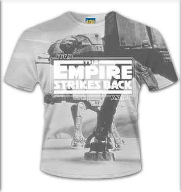 SubDye Star Wars Empire Strikes Back t-shirt - OFFICIAL