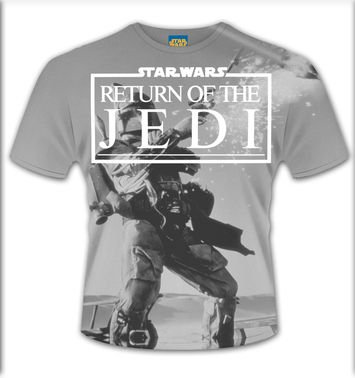 SubDye Star Wars Return Of The Jedi t-shirt - OFFICIAL