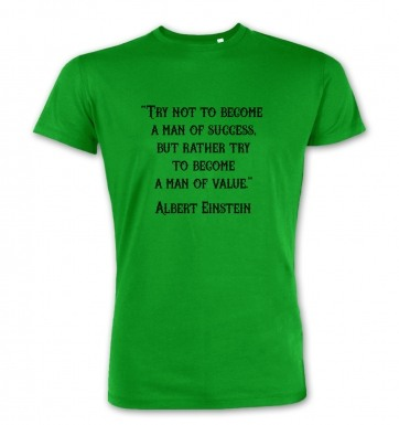Success Quote Einstein premium t-shirt