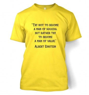 Success Quote Einstein t-shirt
