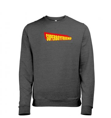 Superboyfriend heather sweatshirt