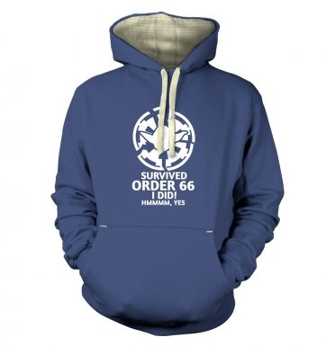 Survived Order 66 I Did Adult Premium Hoodie