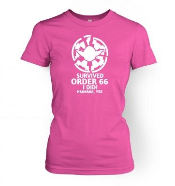 Survived Order 66 I Did women's t-shirt