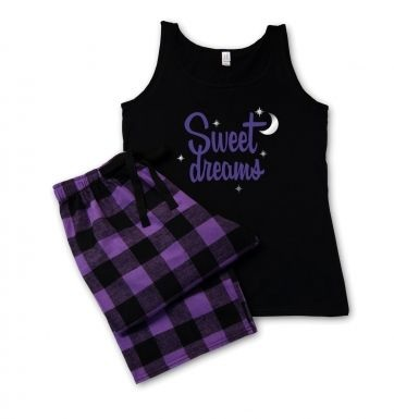 Sweet Dreams Purple Pyjamas