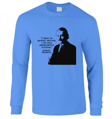 Talents Quote Einstein long-sleeved t-shirt