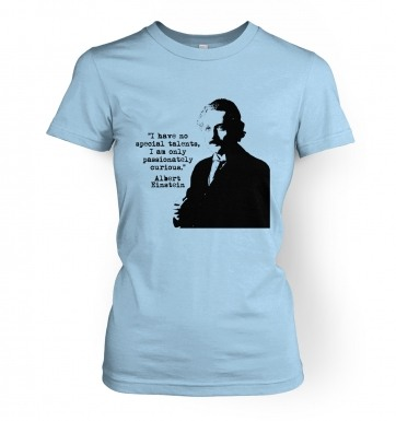 Talents Quote Einstein women's t-shirt