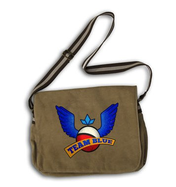 Team Blue messenger bag