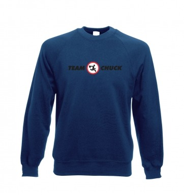 Team Chuck sweatshirt