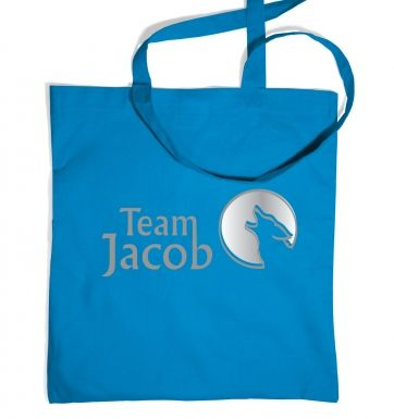 Team Jacob tote bag