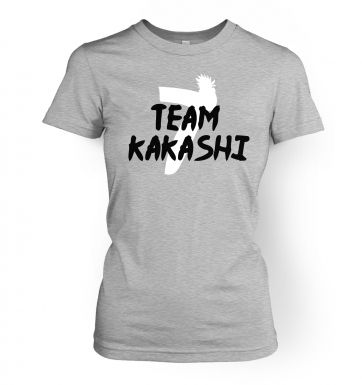 Team Kakashi   womens t-shirt