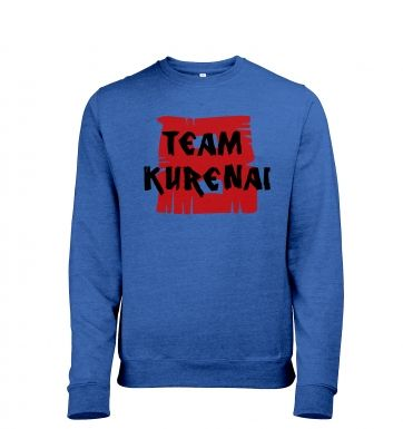 Team Kurenai heather sweatshirt