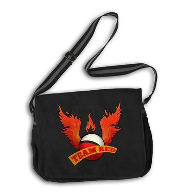 Team Red messenger bag