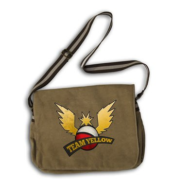 Team Yellow messenger bag