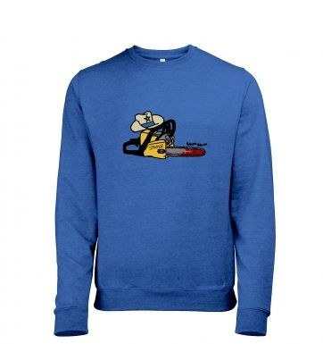 Texas Chainsawyer heather sweatshirt