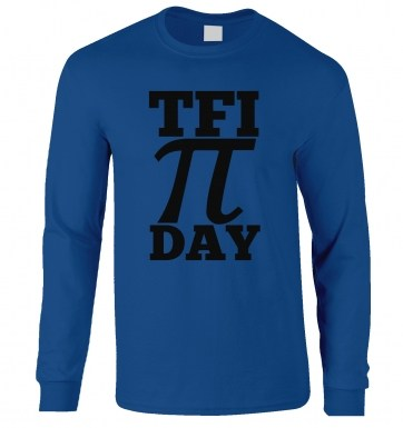 TFI Pi Day long-sleeved t-shirt