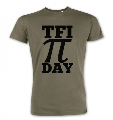 TFI Pi Day premium t-shirt