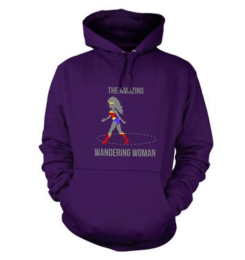 The Amazing Wandering Woman hoodie