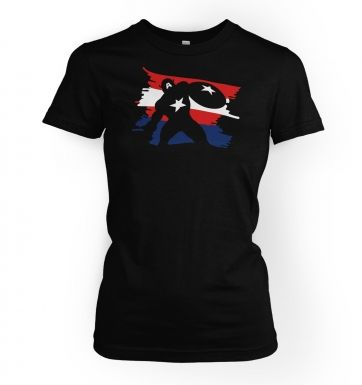 The Captain  womens t-shirt