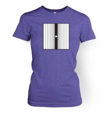 The Doppler Effect women's t-shirt