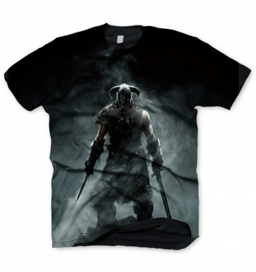 The Elder Scrolls Skyrim Dragonborn men's t-shirt - Official
