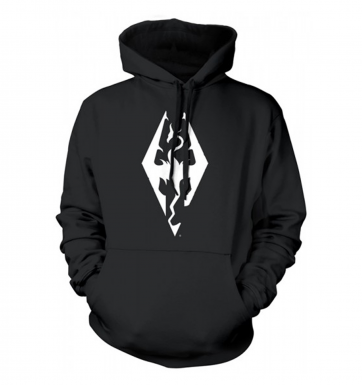 The Elder Scrolls Skyrim Dragon Symbol hoodie - Official