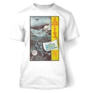 The Fabulous World Of Jules Verne t-shirt