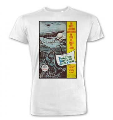 The Fabulous World Of Jules Verne premium t-shirt