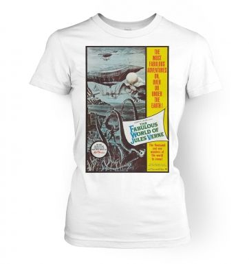 The Fabulous World Of Jules Verne womens t-shirt