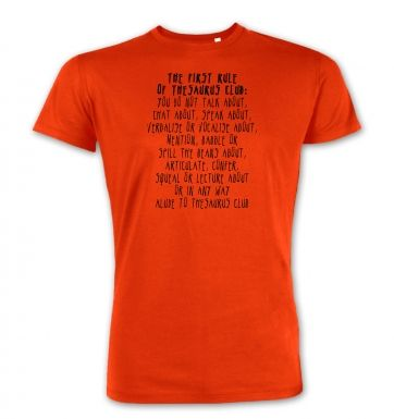 The First Rule Of Thesaurus Club  premium t-shirt