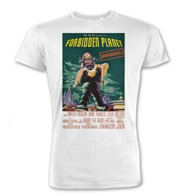 Forbidden Planet premium t-shirt