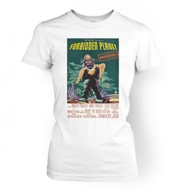 The Forbidden Planet   womens t-shirt