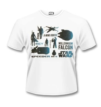 The Force Awakens Heroes t-shirt