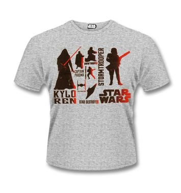 The Force Awakens Villains t-shirt