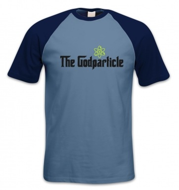The God Particle (Higgs Boson) short-sleeved baseball t-shirt