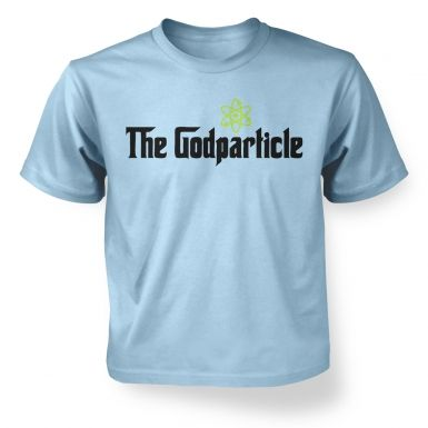 The God Particle (higgs boson)  kids t-shirt