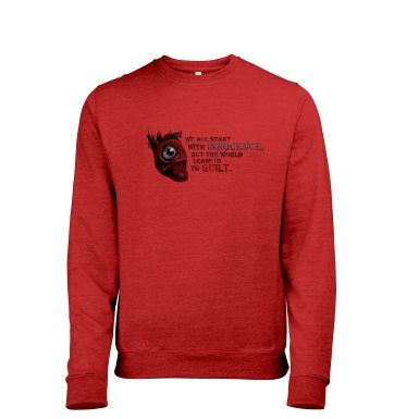 The Heart of Dishonor men's heather sweatshirt