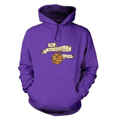 The Holy Hand Grenade of Antioch hoodie