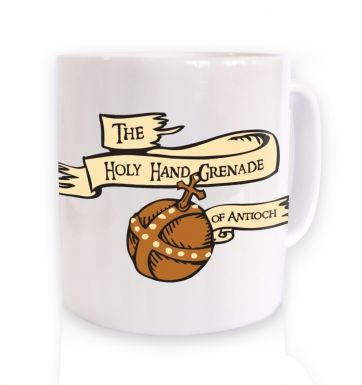 The Holy Hand Grenade of Antioch mug