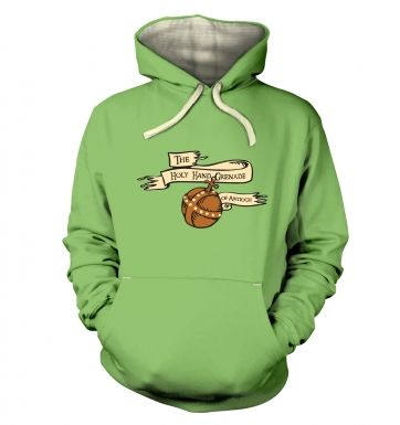 The Holy Hand Grenade of Antioch  hoodie (premium)