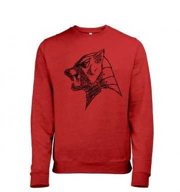 The Hounds Helm heather sweatshirt