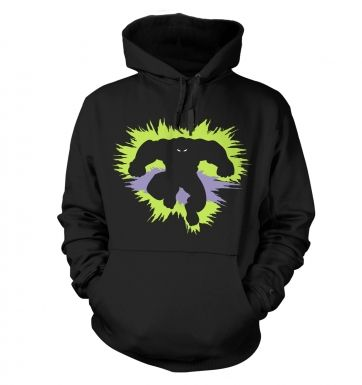 Mr Mean and Green Adult Hoodie
