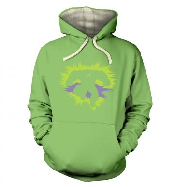 Mr Mean And Green  hoodie (premium)