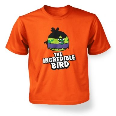 The Incredible Bird  kids t-shirt