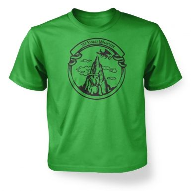 The Dragon Mountain  kids t-shirt