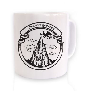 The Dragon Mountain mug