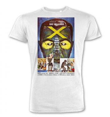 The Man With XRay Eyes premium t-shirt