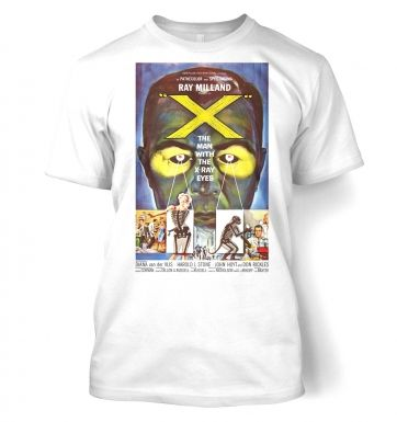 The Man With XRay Eyes  t-shirt