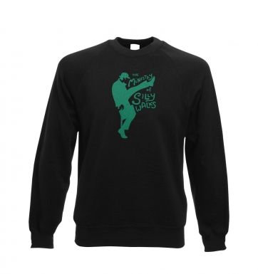 The Ministry of Silly Walks Adult Crewneck Sweatshirt