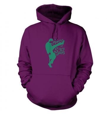 The Ministry of Silly Walks hoodie