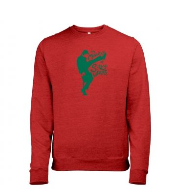 The Ministry of Silly Walks Mens Heather Sweatshirt